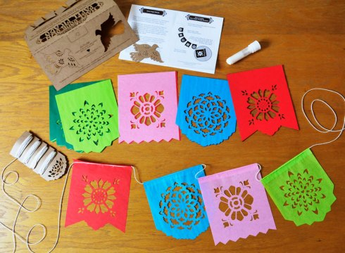 How to assemble papel picado banners